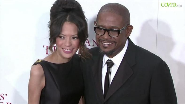 Forest Whitaker i żona