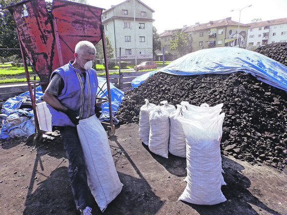 Na stovarištima širom Srbije cena uglja je ujednačena