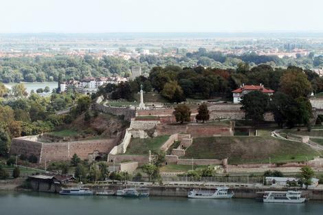 Pogled na Beogradsku tvrđavu