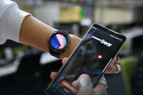 Samsung Gear Sport sa ekranom od 1,2 inča