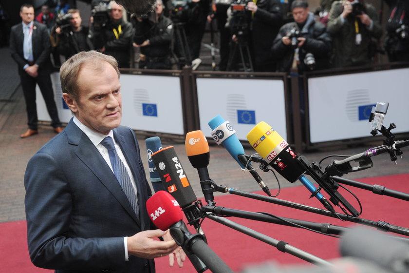 Tusk w ogniu europejskiej krytyki