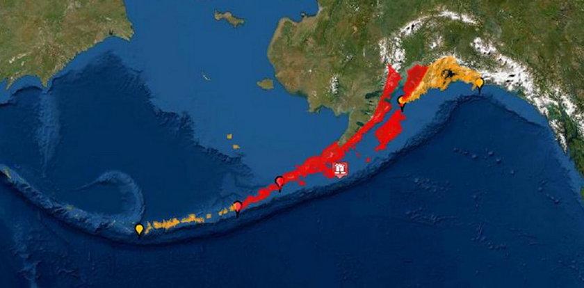 Silne trzęsienie ziemi na Alasce. Ogłoszono alarm przed tsunami