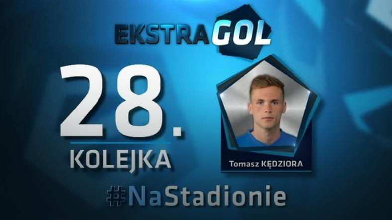 EkstraGol - Tomasz Kędziora zwycięzcą w 28. kolejce