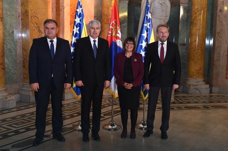 Maja Gojković i članovi Predsedništva BiH