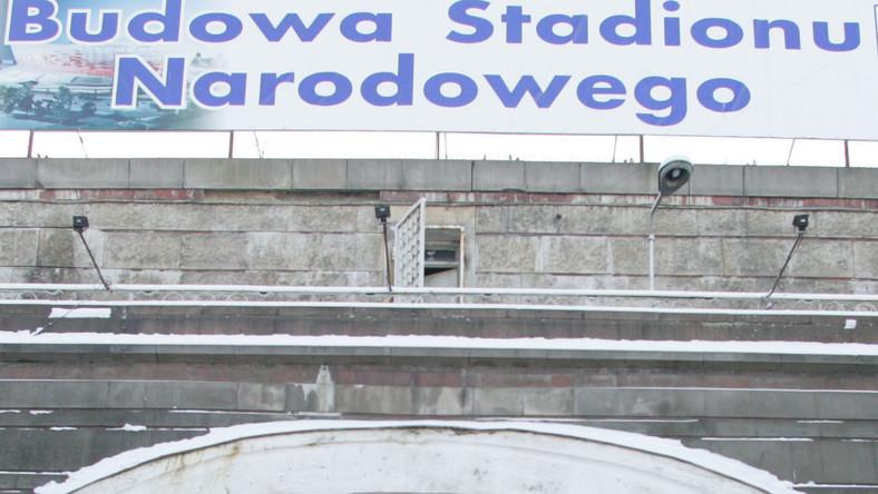 Wstrzymano budowę Stadionu Narodowego