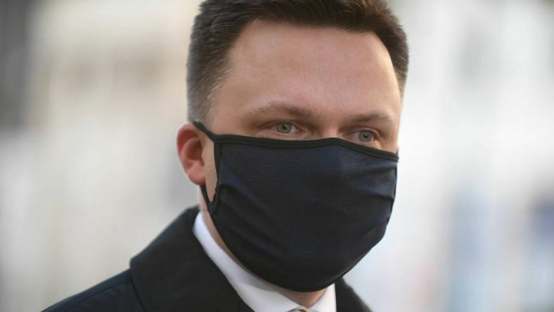 Szymon Hołownia PAP/Marcin Obara