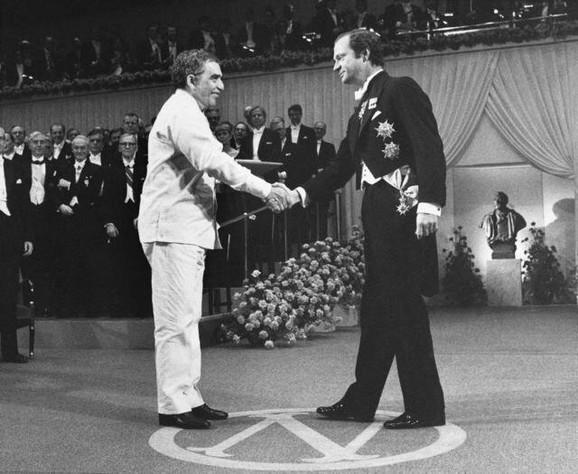 Markes prima Nobelovu nagradu za književnost