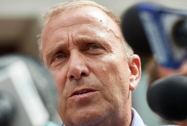 Przewodniczący Platformy Obywatelskiej Grzegorz Schetyna
