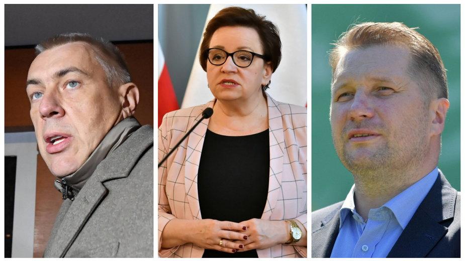 Roman Giertych, Anna Zalewska, Przemysław Czarnek