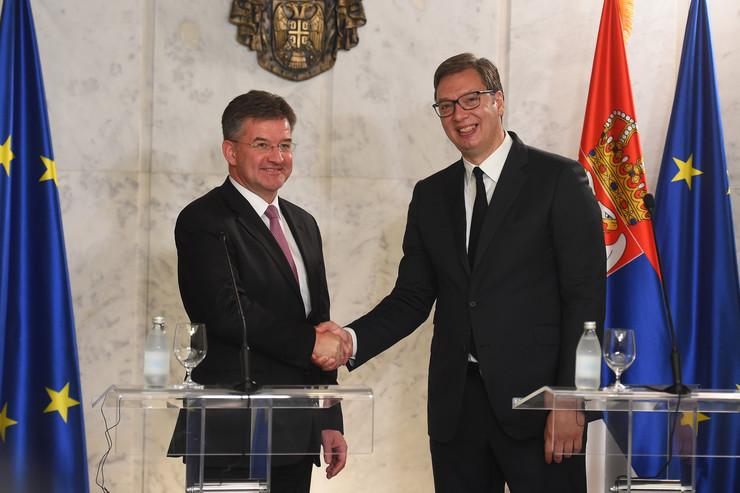 Aleksandara Vučić Miroslav Lajčak