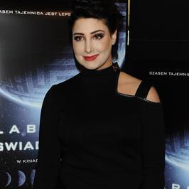 """Laura Samojłowicz, Małgorzata Foremniak i inne gwiazdy na premierze filmu """"Labirynt świadomości"""""""