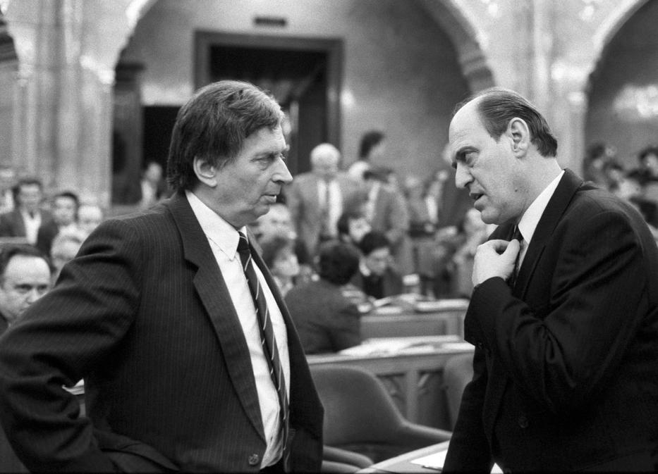 Antall József miniszterelnök 1990-ben kérte fel Kupát pénzügyminiszternek /Fotó: MTI Kovács Attila