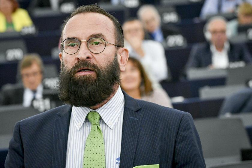 Węgierski europoseł József Szájer