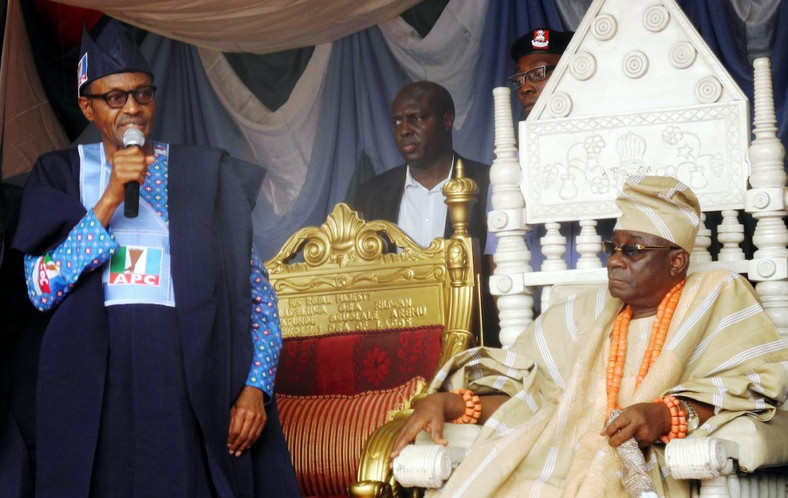 OBA Of Lagos and Buhari (Kemi Ashefon Love Haven)