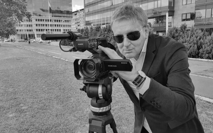 Novinar Dragan Milivojević