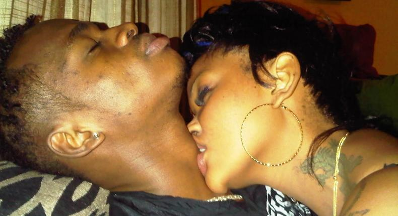 Wema and Diamond when they dated