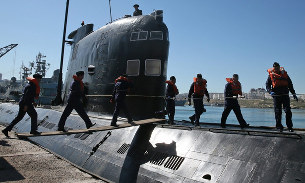 Krym. Rosjanie przejmują ukraińską łódź podwodną