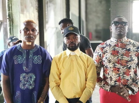 Reminisce played the role of Makanaki while IllBliss played the role of Odogwu Malay in  'King Of Boys'