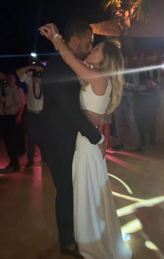 Kejt i Rio Ferdinand na venčanju u Turskoj prošle godine