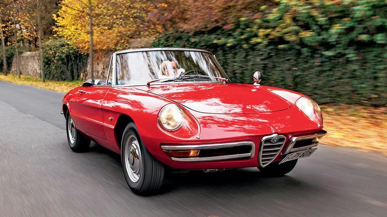 """Alfa Romeo Spider """"Duetto"""" - spider bez nadęcia"""