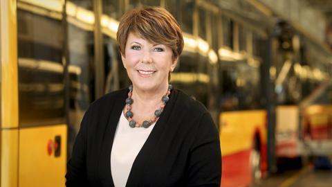 Solange Olszewska jest współzałożycielką i prezsem firmy Solaris Bus & Coach