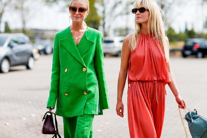 Skandinavsko plava kosa na Nedelji mode u Kopenhagenu
