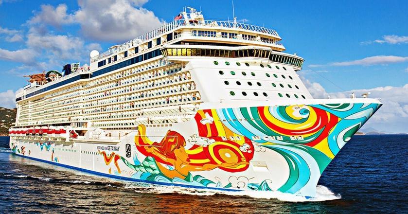 Norwegian Getaway to jeden z największych wycieczkowców świata. Pomieści 4 tys. pasażerów i 1,5 tys. personelu