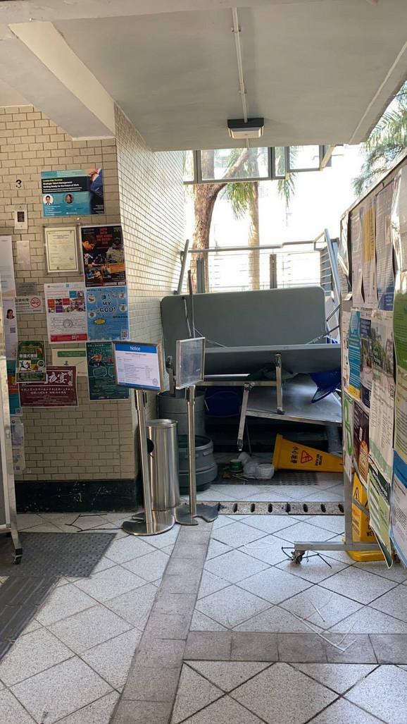 Hong Kong, demoliran kampus