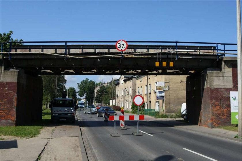 W Poznaniu mógł runąć wiadukt