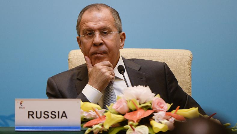 Siergiej Ławrow, minister spraw zagranicznych Rosji
