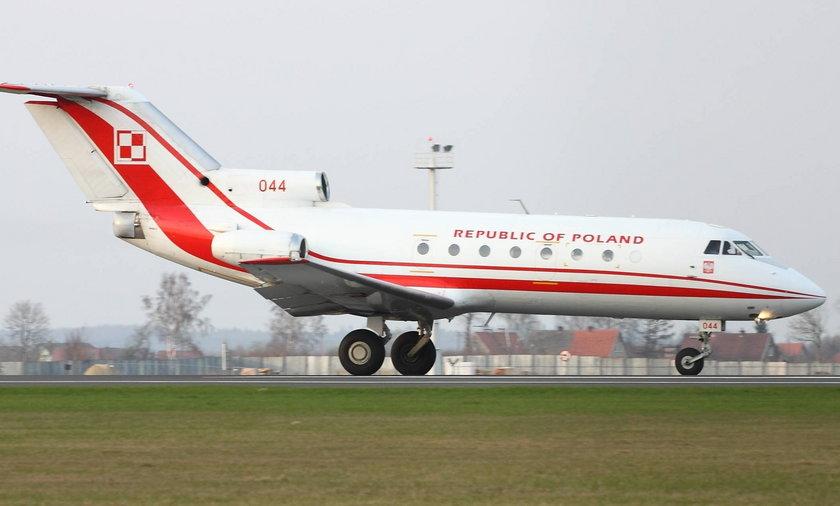 Samolot rządowy Jak-40