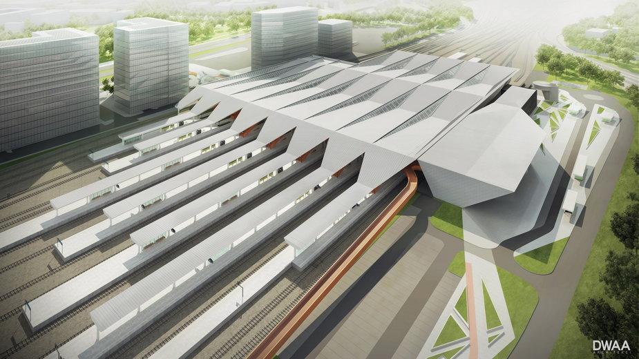 Tak będzie wyglądał odnowiony dworzec Warszawa Zachodnia - wizualizacja