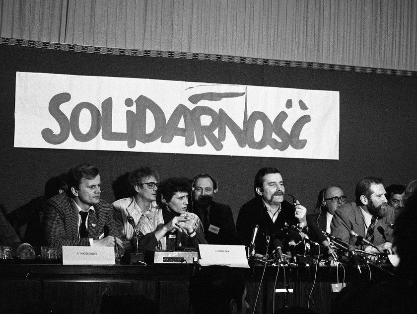 Lech Wałęsa w 1981r.