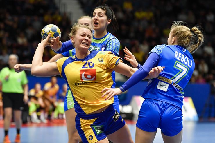 Detalj sa utakmice Švedska - Španija