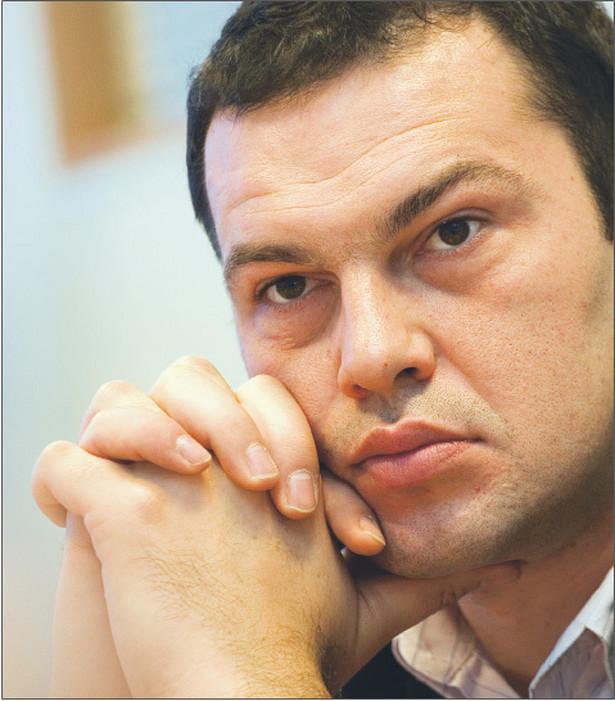 Jakub Szulc, wiceminister zdrowia, od 2005 roku poseł na Sejm, wcześniej pracował w bankowości, absolwent Akademii Ekonomicznej w Poznaniu Fot. Wojciech Górski