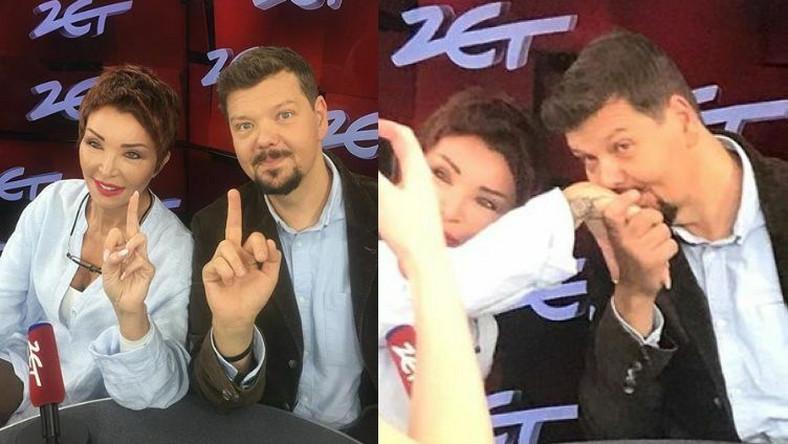 Ewa Minge, Michał Figurski