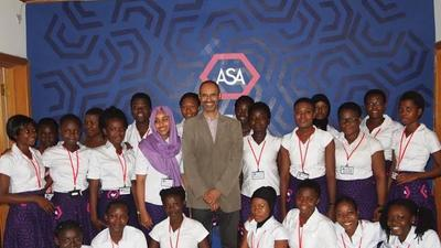 Founder of Africa's first STEM school for girls named most influential black Briton