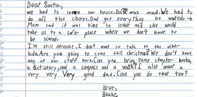 Tužno pismo koje je jedno dete poslalo Deda Mrazu