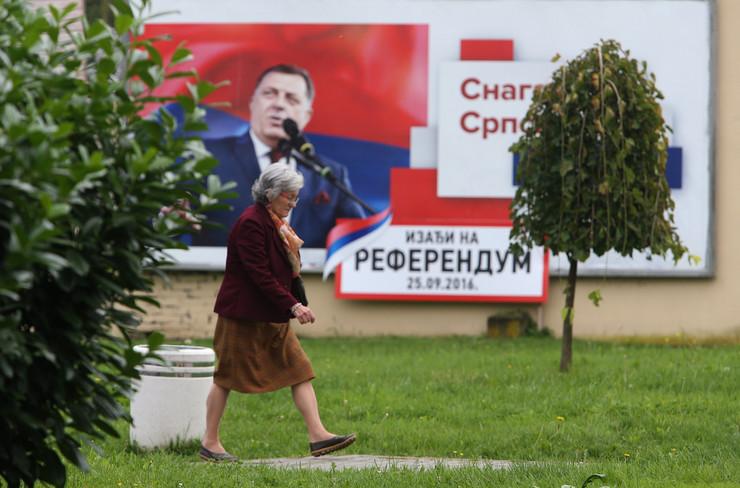 Banjaluka referendum plakat bilbord