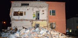Butla z gazem rozerwała dom na kawałki