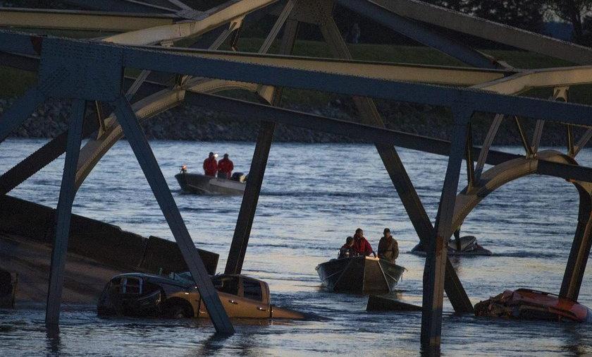 Zawalił się most w USA