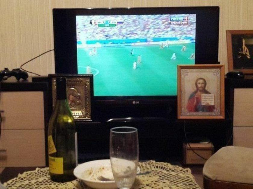 Modlą sięza wynik meczu?