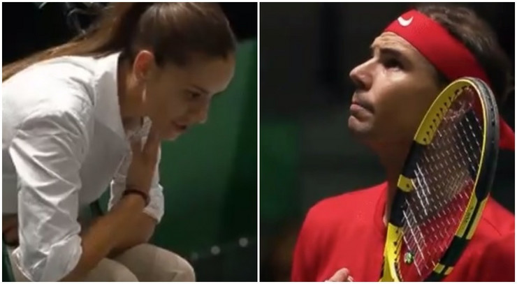 Marijana Veljović i Rafael Nadal