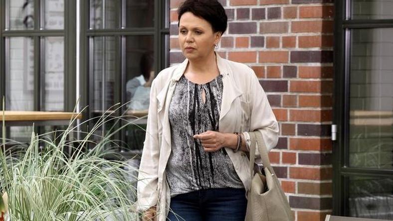 Małgorzata Pieńkowska w serialu M jak miłość