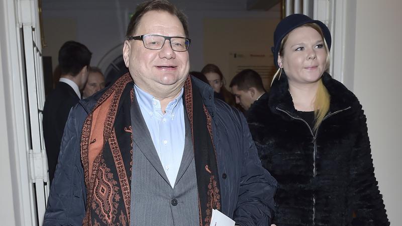 Ryszard Kalisz z żoną Dominiką