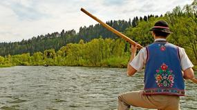 Bardzo wysoka frekwencja na spływie przełomem Dunajca