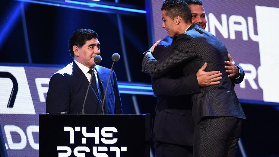 Diego Maradona i Cristiano Ronaldo