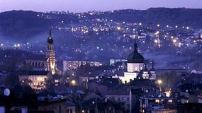 Przemyśl: panorama z wieży katedry