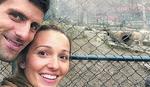 SRCE MOJE Ovako je Jelena bodrila Novaka sa tribina u Monte Karlu /FOTO/