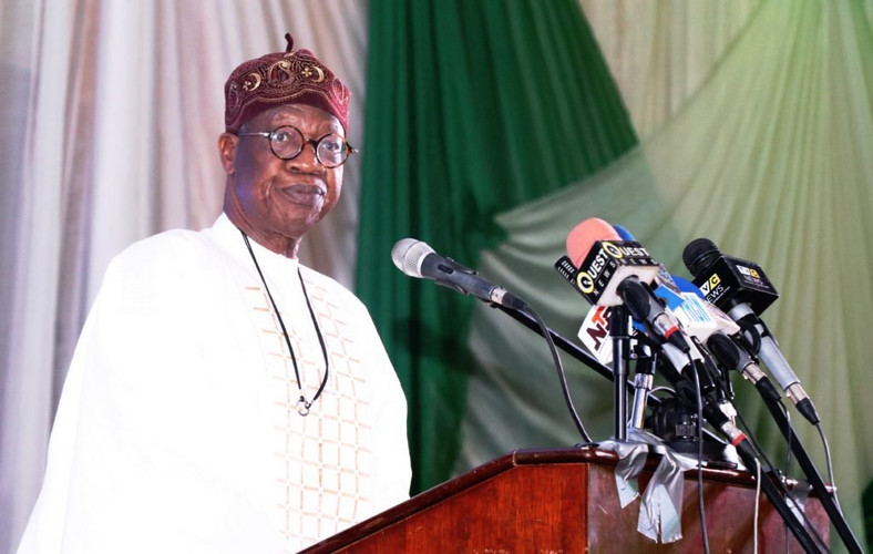 Lai Mohammed says the nation can't afford two elaborate ceremonies in two months (Presidency)